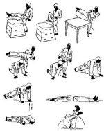 Техника боя руками и ногами – Глава 2. Методика обучения ударам руками, ногами и защиты от них. «Рукопашный бой (обучение технике, приемам и тактике поединка)»