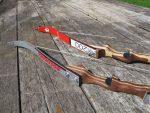Деревянный лук – тетива для самодельного лука, изготовление мини лука из лыж, дерева, чертежи, фото и видео