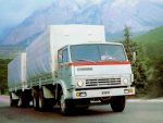 Камаз 53212 ттх – технические характеристики, грузоподъемность, расход топлива, ТТХ, зерновоз, военный, контейнеровоз, манипулятор, габариты, бортовой, Элекон, самосвал, сельхозник, с прицепом