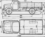 Технические характеристики зил 130 тягач – Зил 130 самосвал размер кузова – Грузовик ЗиЛ 130 — полная характеристика автомобиля. Технические параметры, Габаритные размеры. Отзывы владельцев
