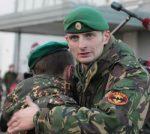 Внутренних войск берет – Утвержден официальный символ военнослужащих разведывательных подразделений – зеленый берет
